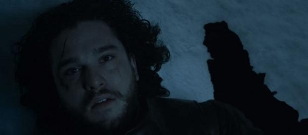 Jon, en la última imágen de la quinta temporada