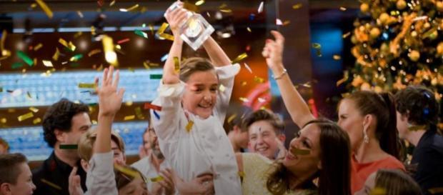 María, ganadora de MasterChef Junior 3