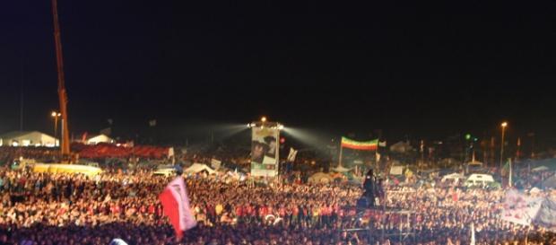 Na Przystanku Woodstock brakowało flag UE