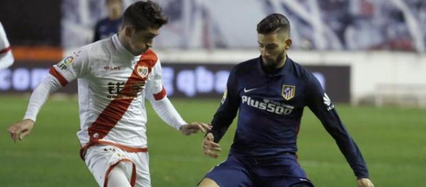 Pablo Hernández y Yannick Carrasco