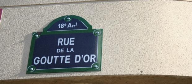 Parigi, rue de la Goutte d'Or.