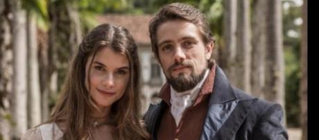 Lívia e Felipe tem final feliz.