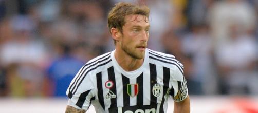 Il centrocampista della Juventus Claudio Marchisio