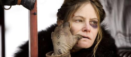 Jennifer Jason Leigh en 'Los odiosos ocho'