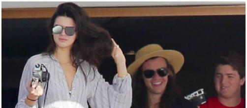 Kendall Jenner e Harry Styles em St. Barts