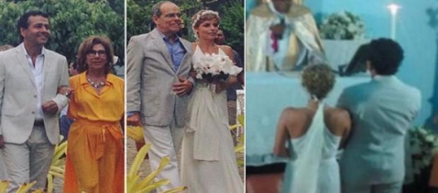 Casamento aconteceu secretamente