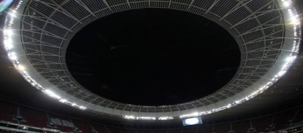 Mané Garrincha, onde o Botafogo fará o amistoso