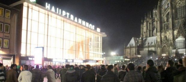Notte di capodanno, duomo di Colonia