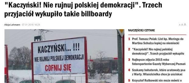 Prywatna inicjatywa billboardowa