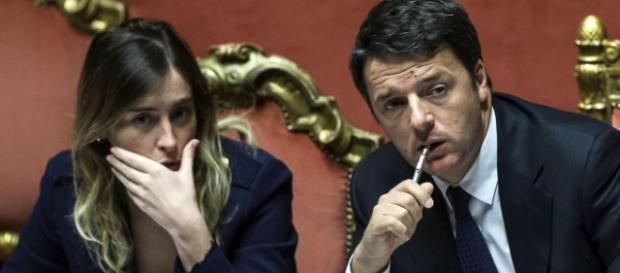 Renzi e Boschi mediano su unioni civili e adozioni