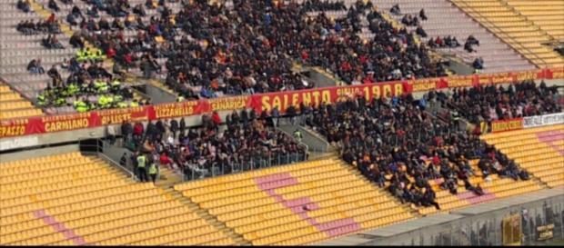 Tanti tifosi del Lecce seguiranno la squadra.