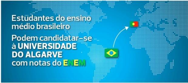 Universidade do Algarve aceite ENEM 2016