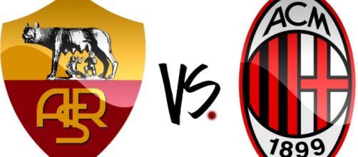 Diretta Roma - Milan Live e video gol