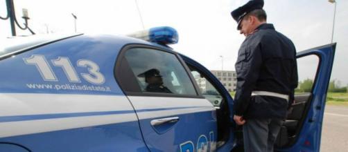 Fotografia di una volante della Polizia