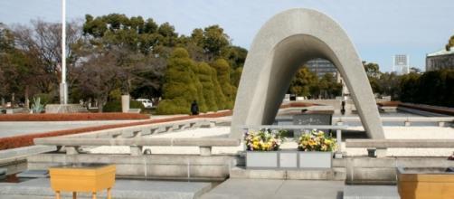 Monumento alle vittime di Hiroshima del '45