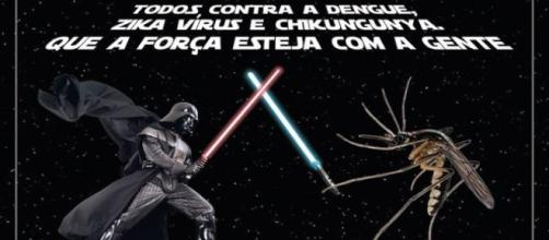 Sério? Aedes enfrentaria Vader ou seria aliado?