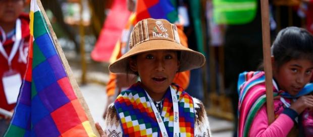 Bolivia recibió al Dakar con alegría y mucho color