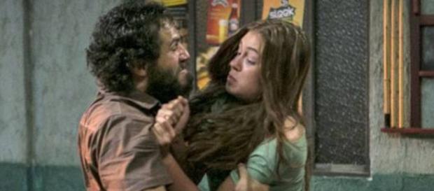 Dino e Eliza - Foto/Reprodução: Globo