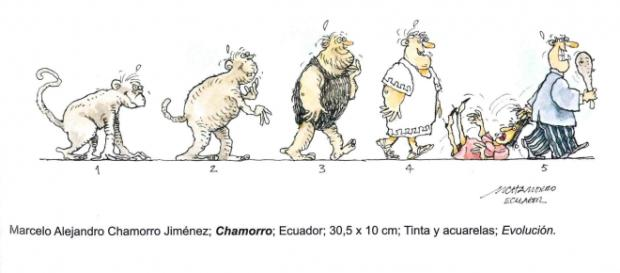 La evolución machista, por Marcelo Alejandro.