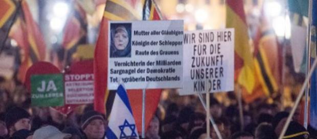 Nastroje antyimigranckie w Niemczech rosną