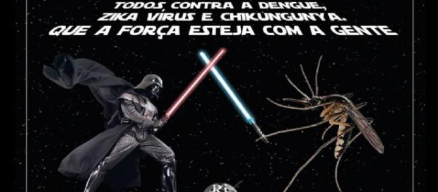 Ribeirão Preto transforma mosquito em Jedi