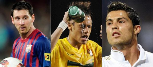 Trio ofensivo da seleção do mundo em 2015