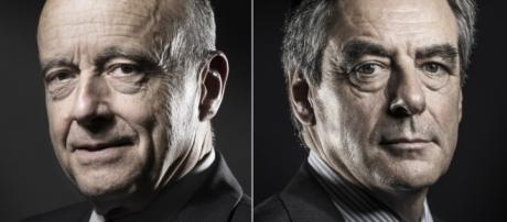 Alain Juppe et Francois Fillon