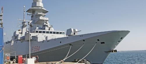 Alpino, la fregata Fremm della Marina Militare