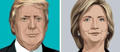 Donald Trump recule dans les sondages face à Hillary Clinton
