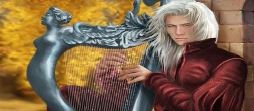Ilustración de Rhaegar Targaryen. M.L. GILIBERTI.