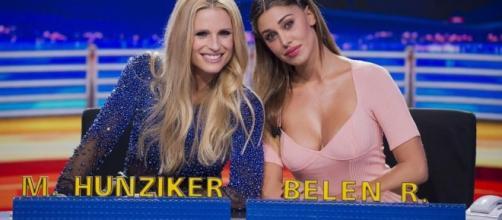 Michelle Hunziker contro Belen?