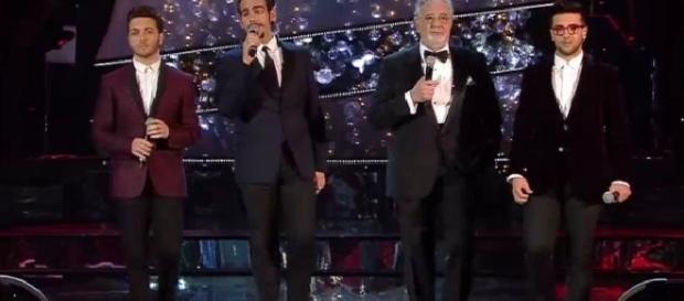 I ragazzi de Il Volo e Placido Domingo a Firenze