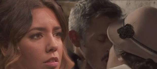 Il Segreto, anticipazioni novembre: Alfonso annega i problemi con Emilia, baciando Hortencia