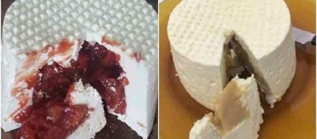 O empresário comercializa os queijos sabor goabada, creme de avelã e doce de leite