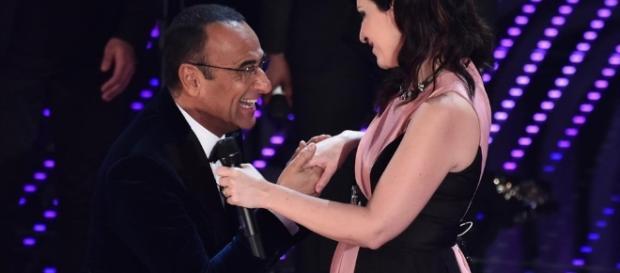 Sanremo 2017 Laura Pausini con Carlo Conti?