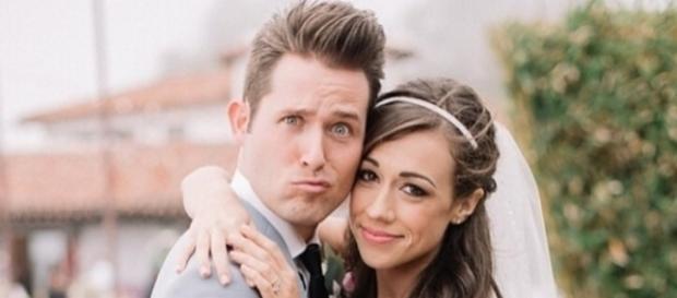 Wedding Photo of Collen Ballinger and Joshua David Evans, via Wikia