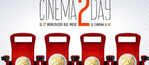 Cinema2Day torna mercoledì 12 ottobre 2016. Le sale aderenti