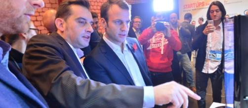 Emmanuel Macron - Le Web 2014 - CC BY