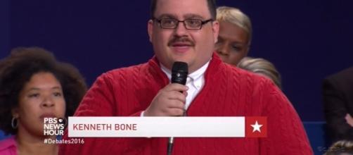 Ken Bone becomes internet meme at Presidential Debate Source: screencap via PBS