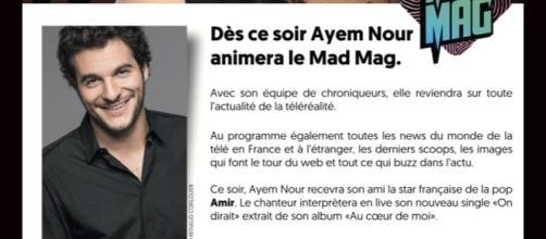 Le communiqué Officiel d'NRJ12 à propos du retour d'Ayem Nour au MadMag