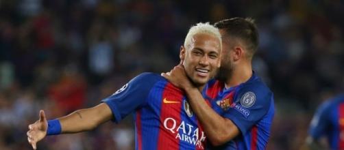 Neymar, craque do Barcelona da Espanha.