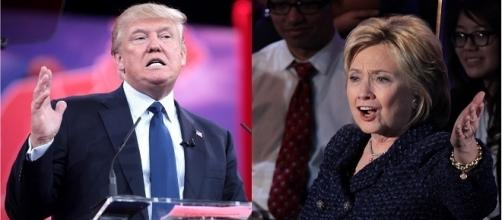 Trump and Clinton Photo Credit: Wikimedia Commons