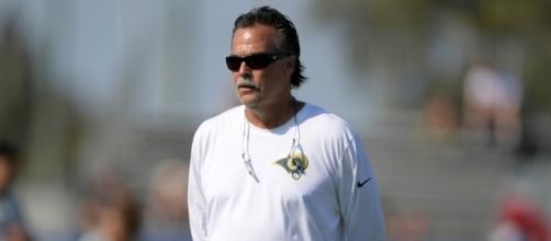Watch Jeff Fisher cut Nick Foles at Los Angeles Rams camp (Video) - fansided.com