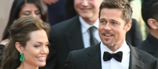 Angelina Jolie e Brad Pitt nel 2009