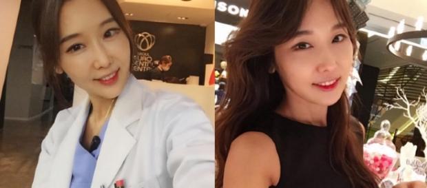 Com 48 anos a jovem dentista esbanja beleza.