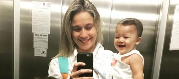 Fernanda Gentil posta foto de Gabriel dando sorrisão e vibra ... - com.br