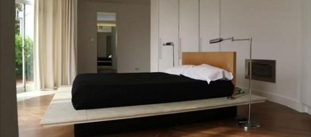 Foto do quarto feito especialmente para o casal