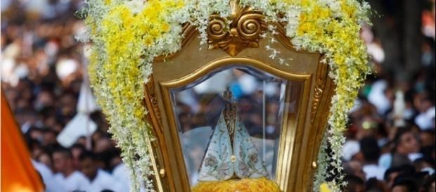 Imagem de Nossa Senhora de Nazaré.