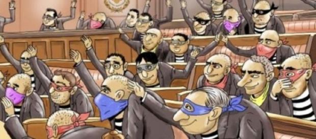 Încă o palmă dată românilor de senatori