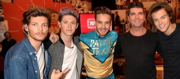 Simon Cowell foi o criador do One Direction